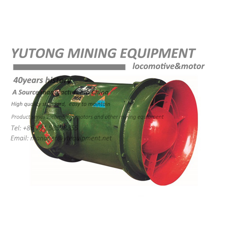 Axial Flow Main Ventilator Fan For Mining