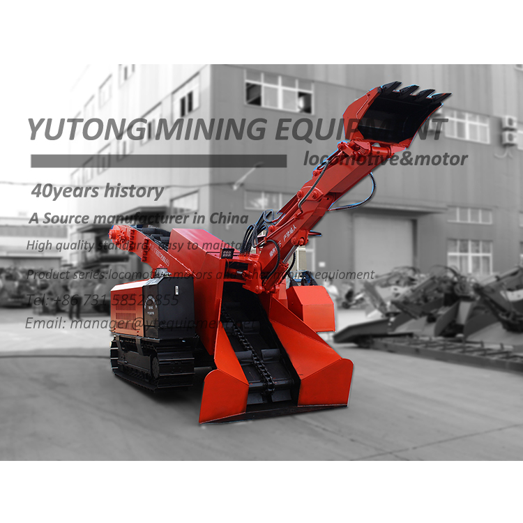 ZWY Series Wheel Type Mucking Loader
